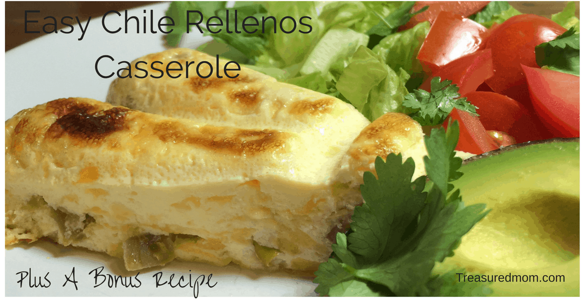 This Easy Chile Rellenos Casserole is amazing. It's easy to prepare and frugal.