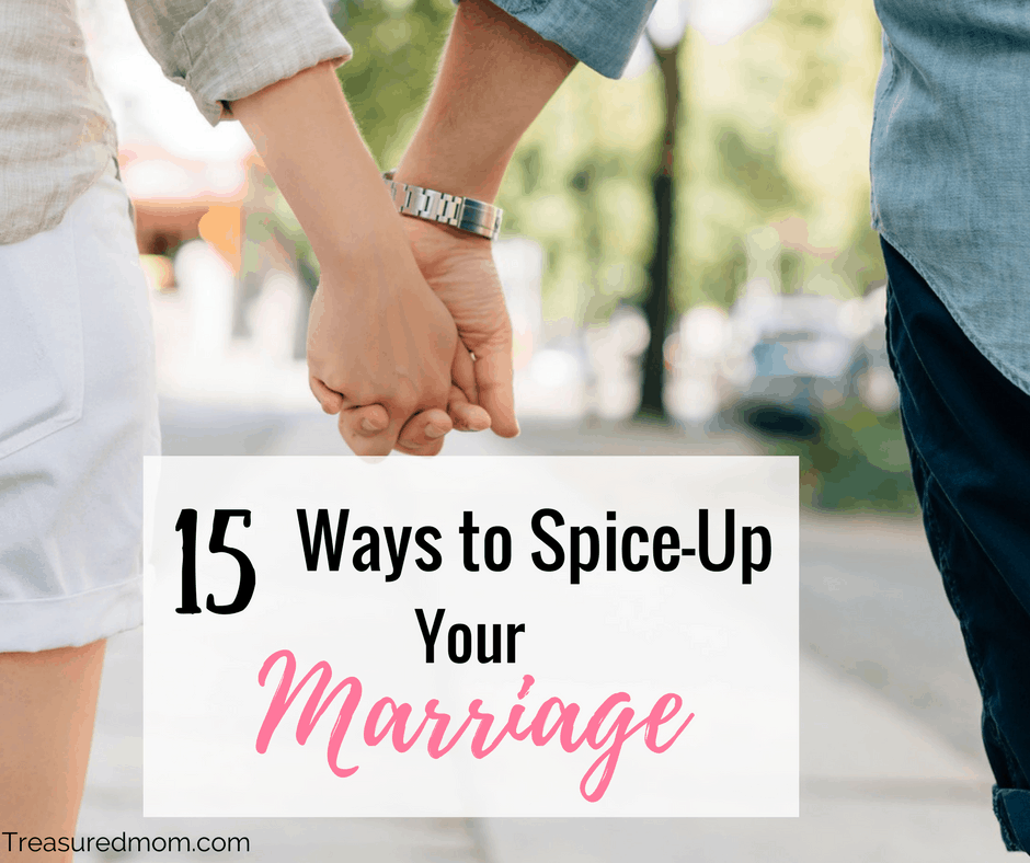 Wouldn't you love to Spice Up Your Marriage? Read here how to fight marriage boredom and have more intimacy.