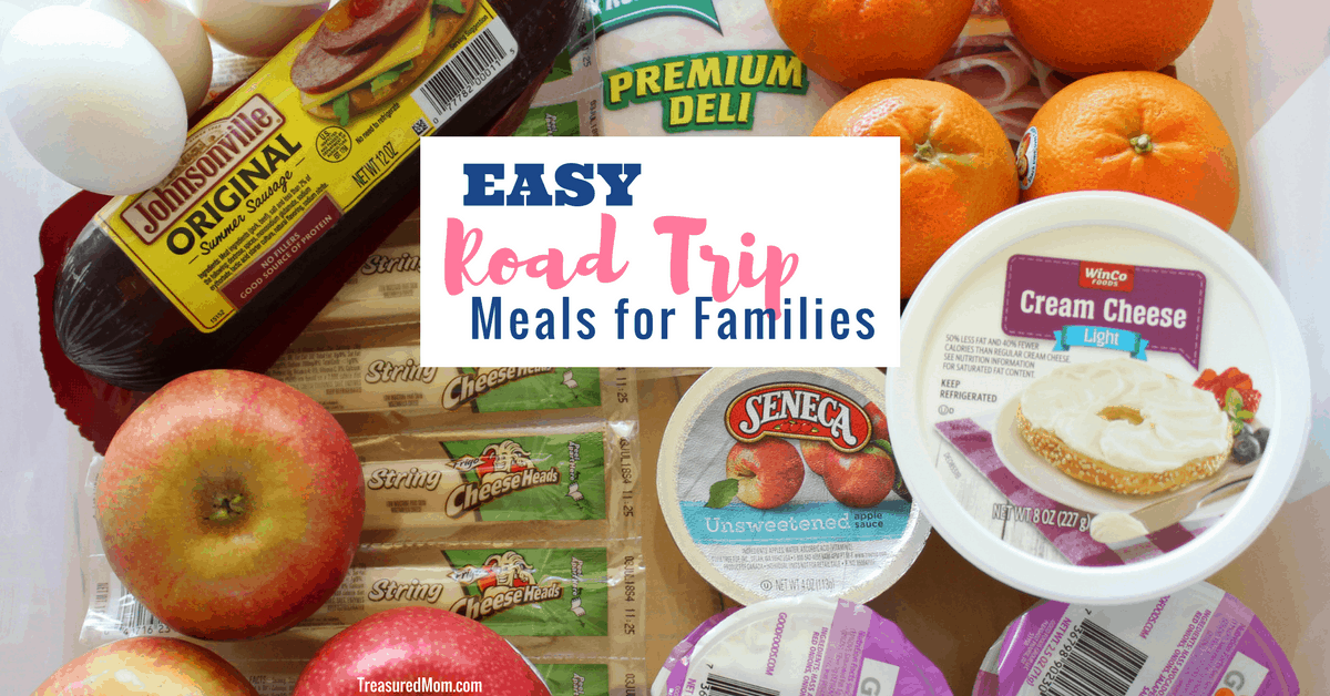 Easy Road Trip Meal Ideas For Families Treasured Mom