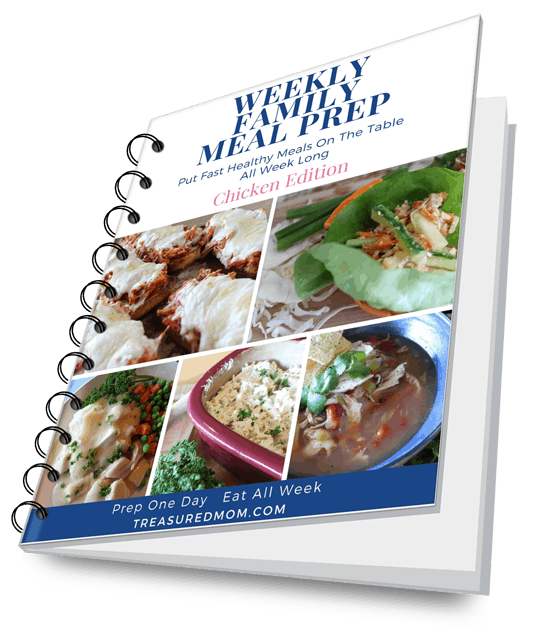Weekly Family Meal Prep ebook cover